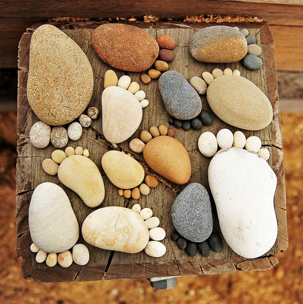 Stone-Footprints-land-art-Iain-Blake-1